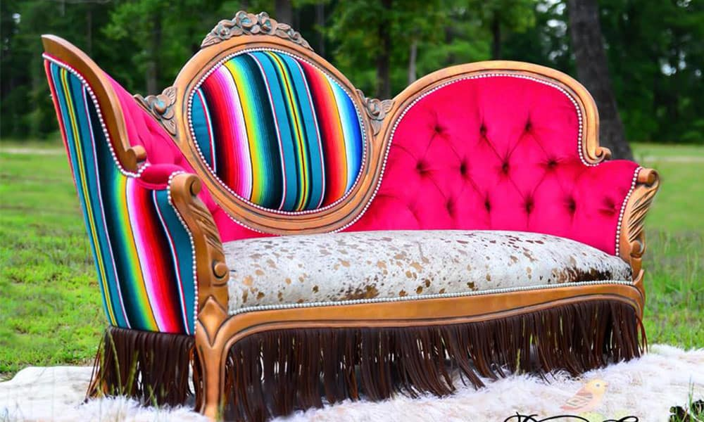 Victorian serape couch desert canary designs serape couch victorian couch serape victorian couch home decor western home furnishings cowgirl magazine