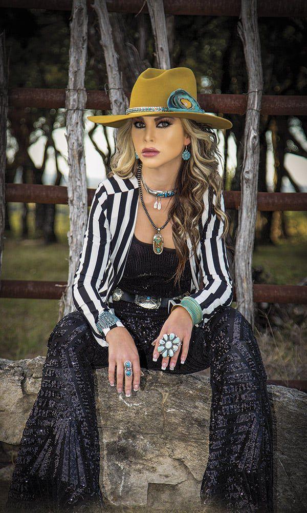 western fashion influencers style cowgirl magazine