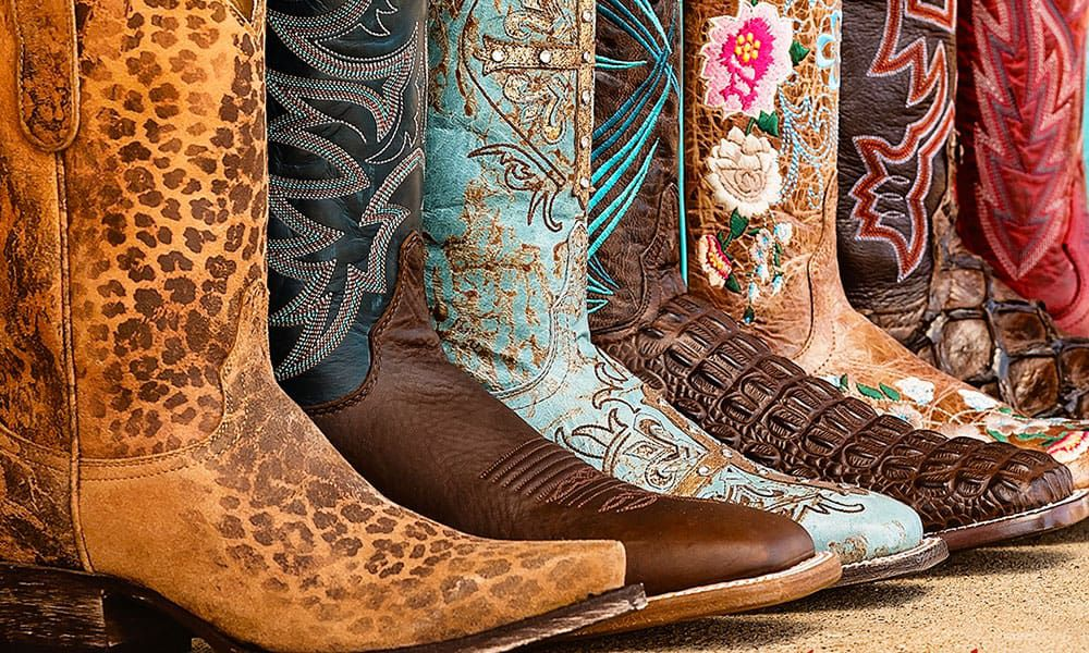 photo colorful cavenders cowboy cowgirl boots western