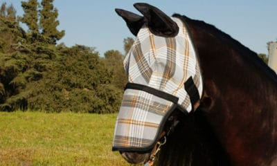 """Cowgirl Magazine"" - Fly Mask"