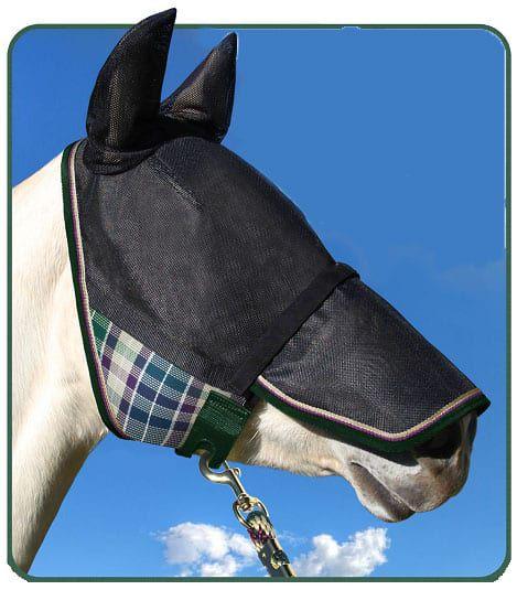 """Cowgirl Magazine"" - Fly Mask"