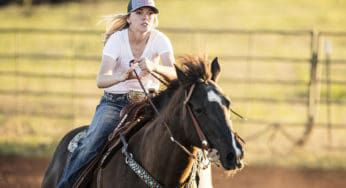 """Cowgirl Magazine"" - Barrel Racing Horses"