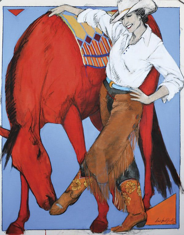 Donna Howell-Sickles Western Art Cowgirl Magazine