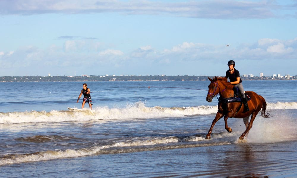 """Cowgirl Magazine"" - Horse Surfing"
