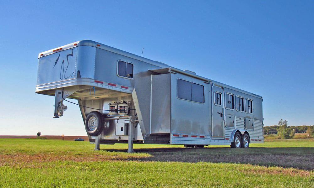 """Cowgirl Magazine"" - Horse Trailers"