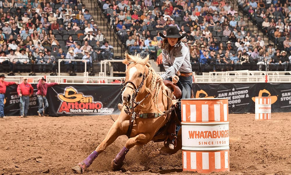 Hailey Kinsel San Antonio Stock Show Rodeo Sister Cowgirl Magazine