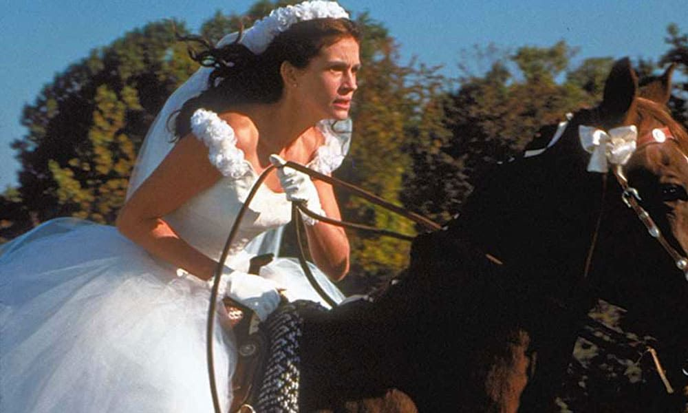 julia robert riding horse runaway bride movie