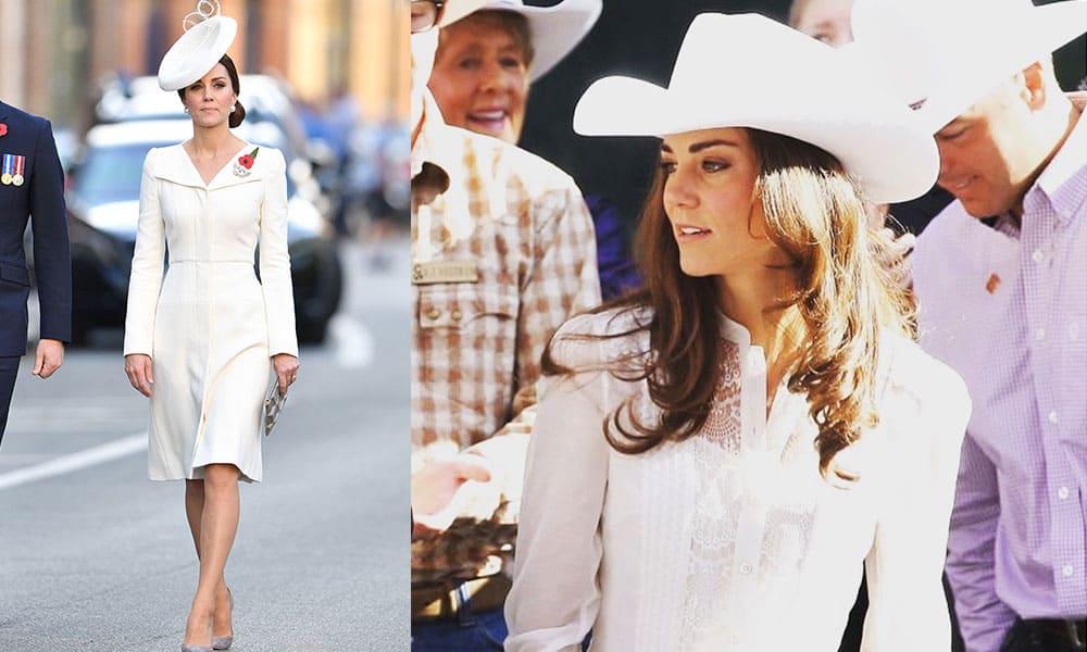 Kate Middleton London cowboy hat cowgirl magazine