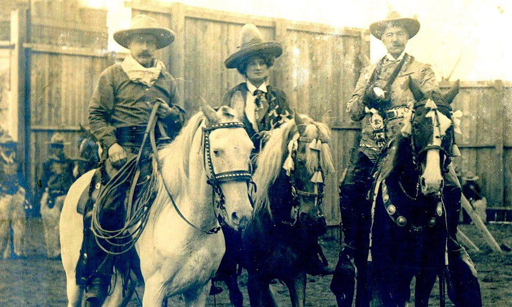 Lulu Bell Parr Wild Women Cowgirl Magazine Bronc Rider
