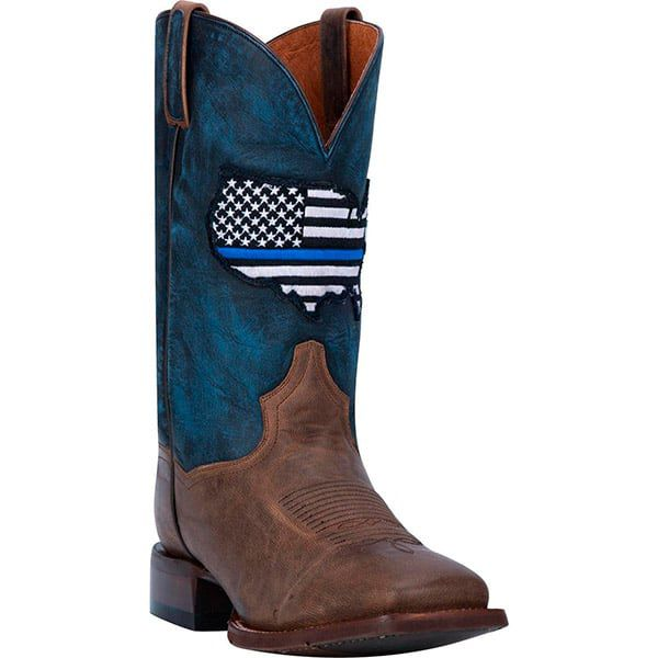 Dan Post Boots Thin Blue Line Collection Cowgirl Magazine