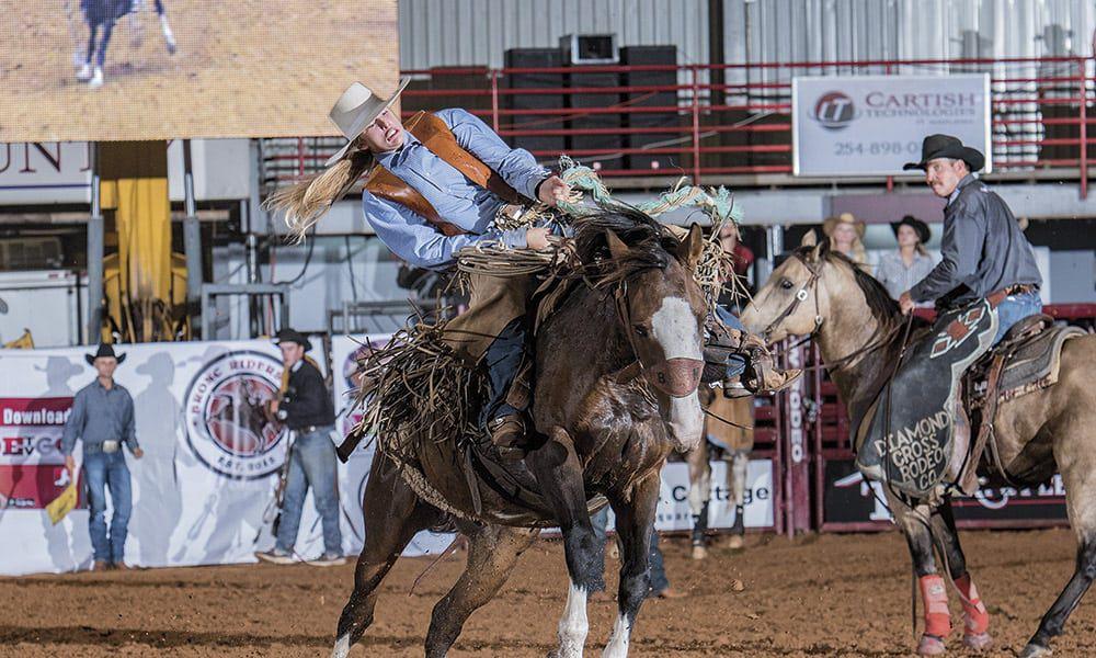 Brittany Miller Cowgirls RIDE TV Ranch Bronc Rider Cowgirl Magazine