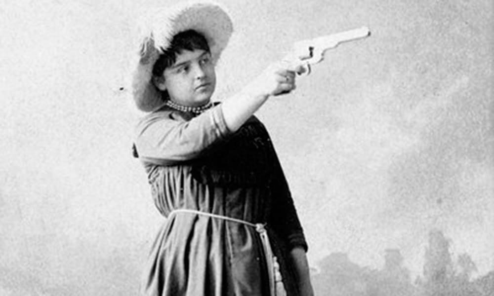Lillian Smith Sharpshooter Cowgirl Magazine
