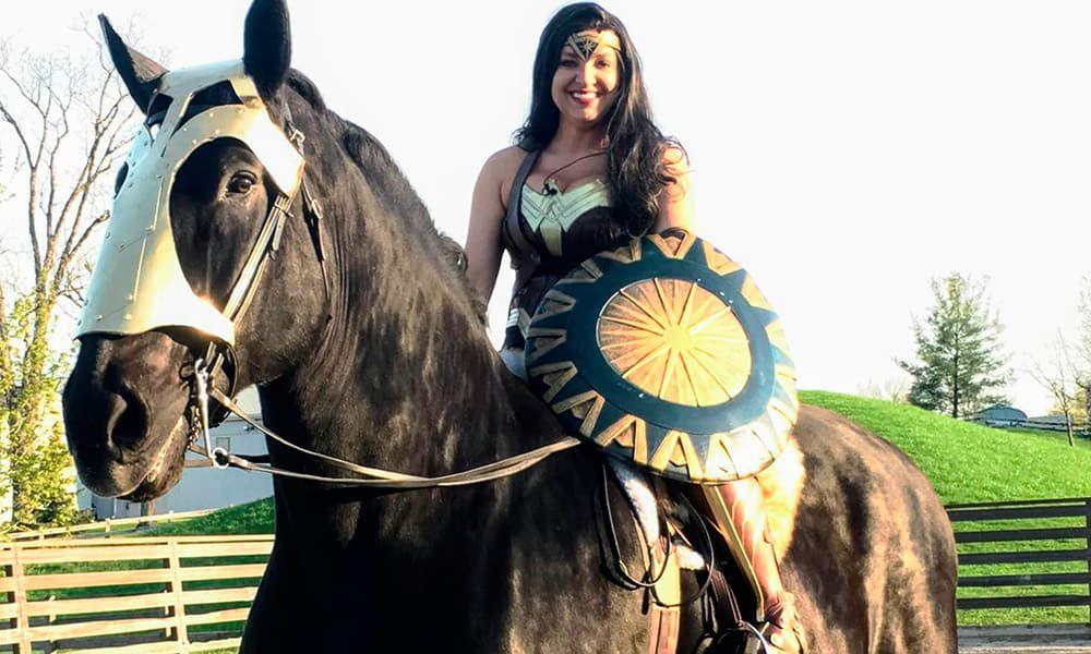 Equestrian Wonder Woman Cowgirl Magazine