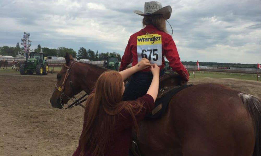 Taylor Manning barrel racer cowgirl magazine