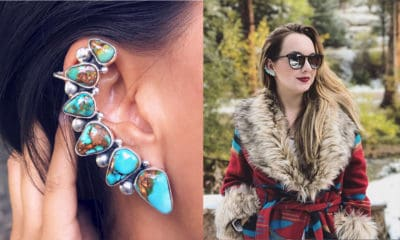 turquoise ear cuffs cowgirl magazine
