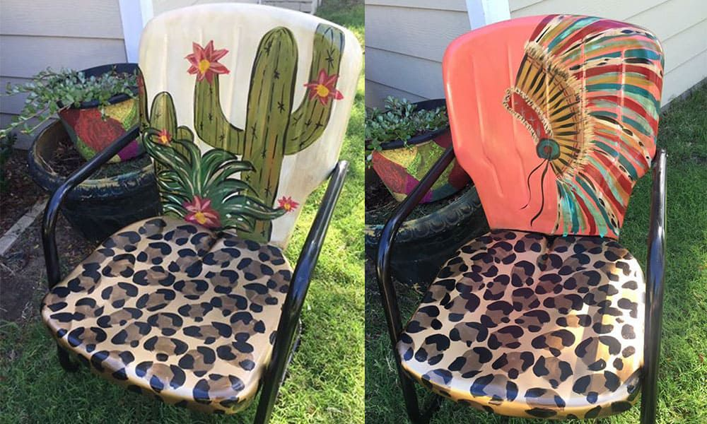 patio chair patio chairs patio furniture cowgirl magazine