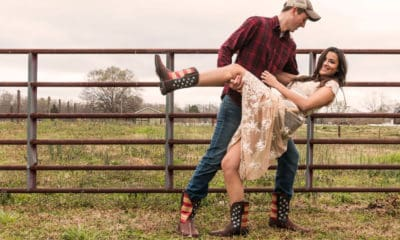couple dancing in durango boots patriotic boot collection