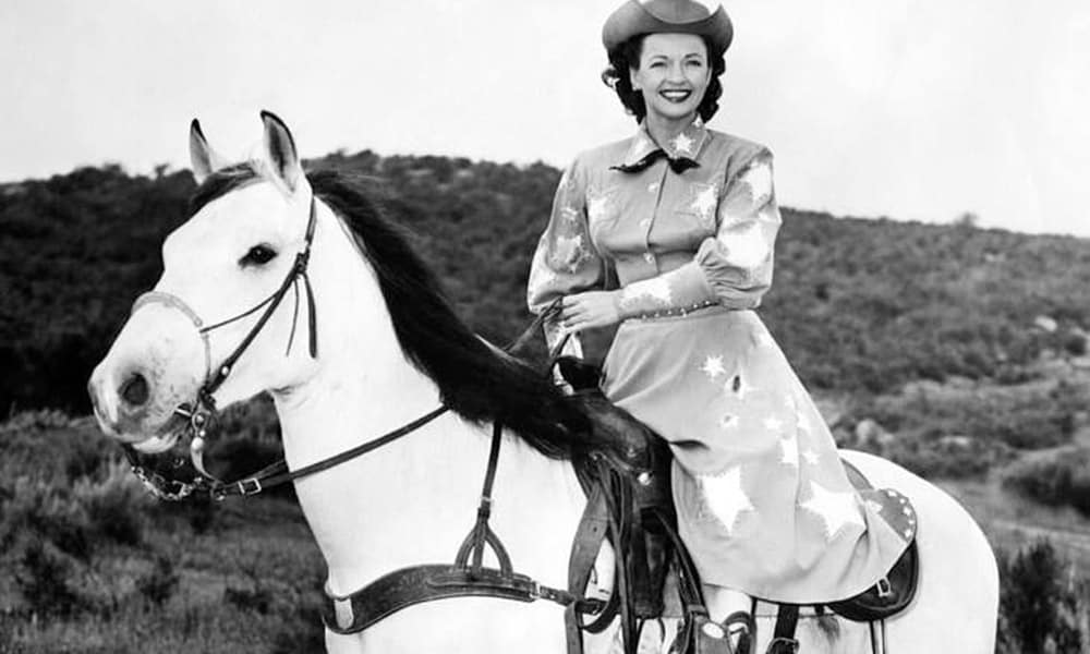 famous horses western film cowgirl magazine