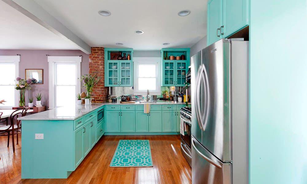 turquoise kitchen cowgirl magazine