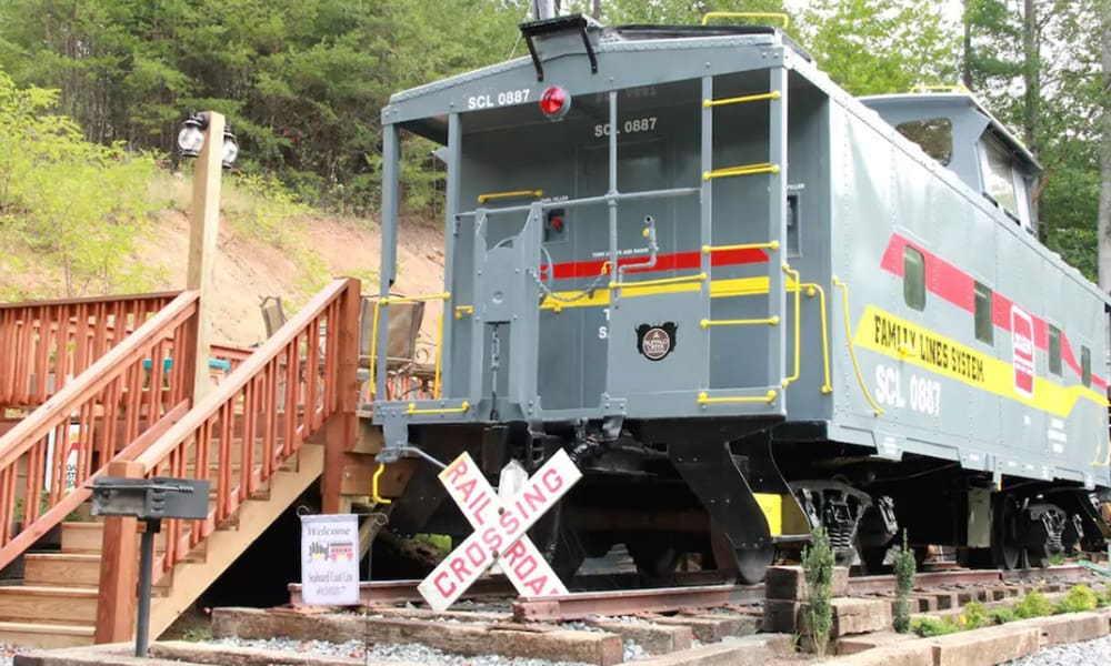 Converted Train Cars Vacation Rentals Cowgirl Magazine