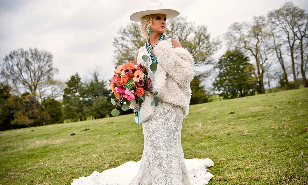 Cowgirl magazine wedding