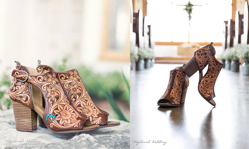 next level Jason Becker custom leather wedding shoes tooled leather cowgirl magazine