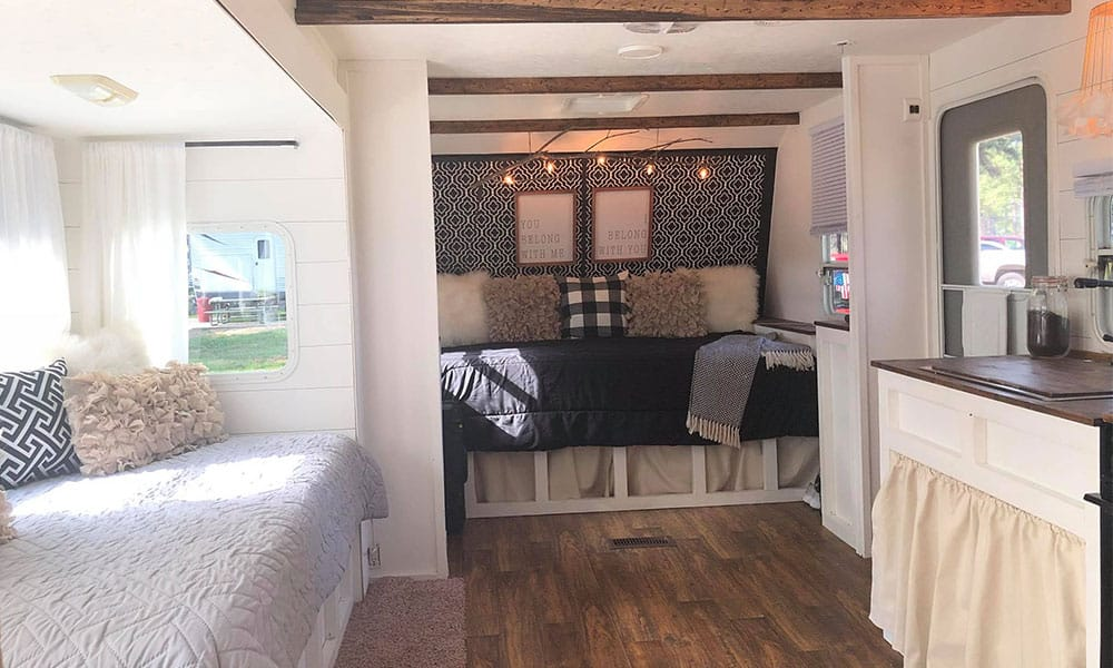 Joanna Gaines Would Be So Proud Of This Little Trailer Joanna Gaines trailer shiplap cowgirl magazine