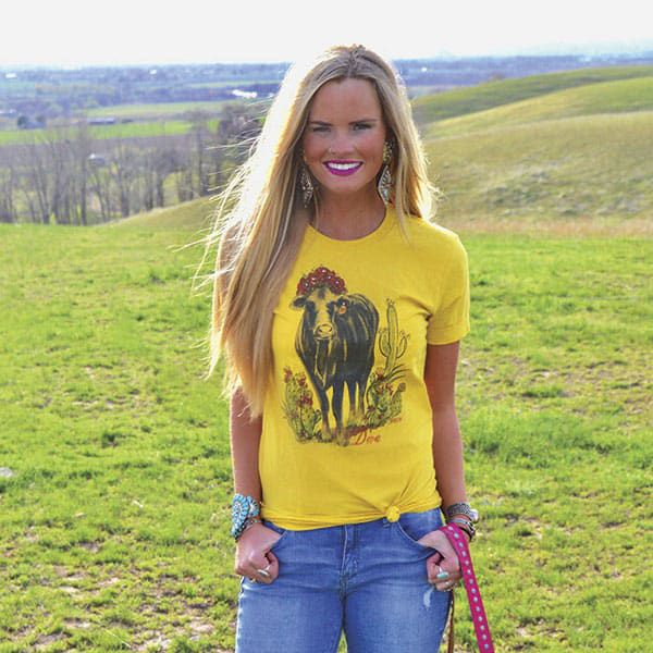graphic tees cowgirl magazine