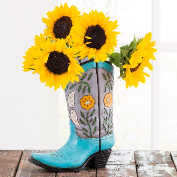 These Boot Vases Are What Your Home Has Been Missing Cowgirl Magazine