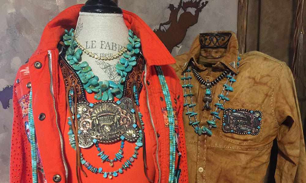 touch of earth custom trophy buckle jewelry clothes