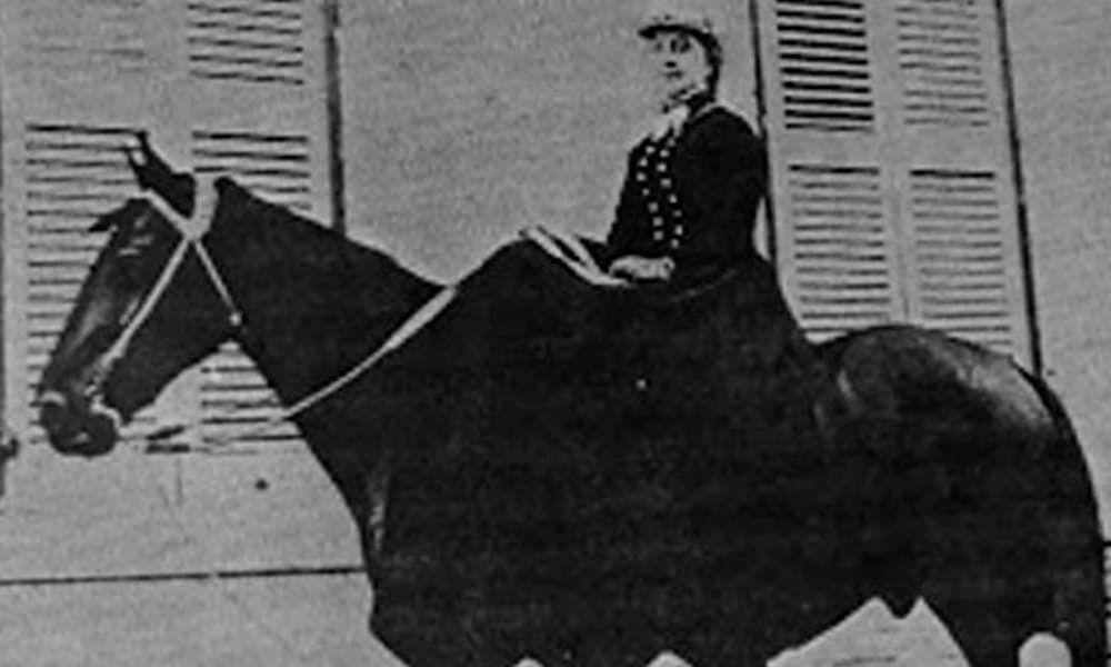 Flora Mundis Tom King Lady Horse Thief Cowgirl Magazine