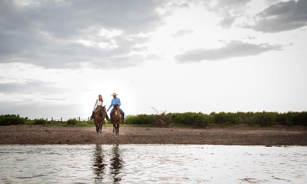 Summer Ranch Engagement Cowgirl Magazine