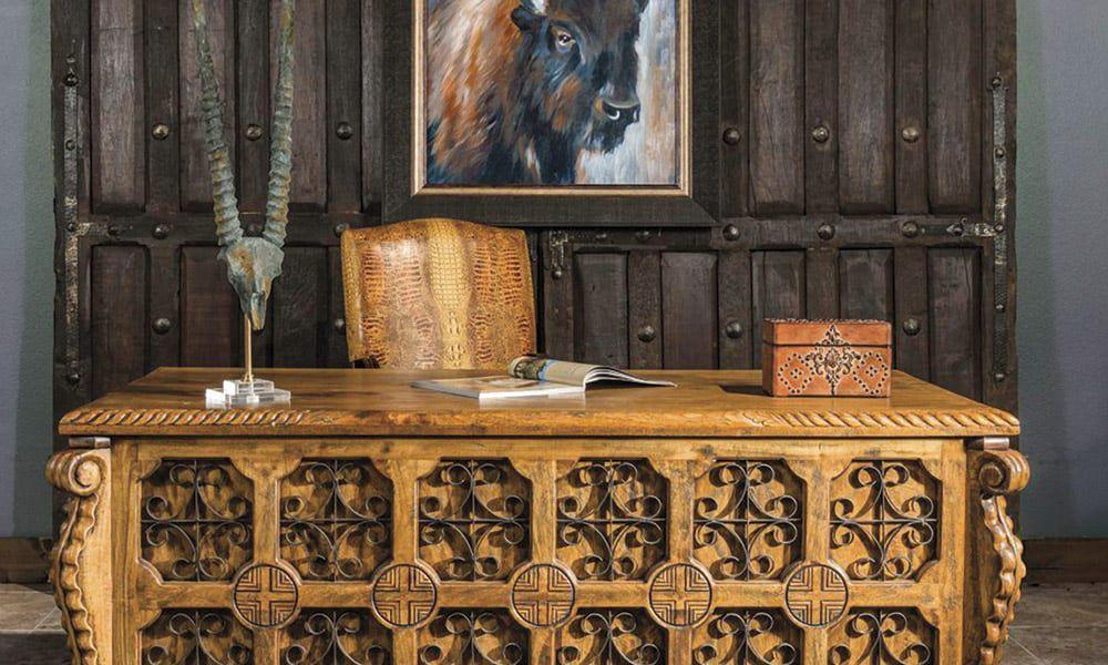 Office Home Decor Cowgirl Magazine