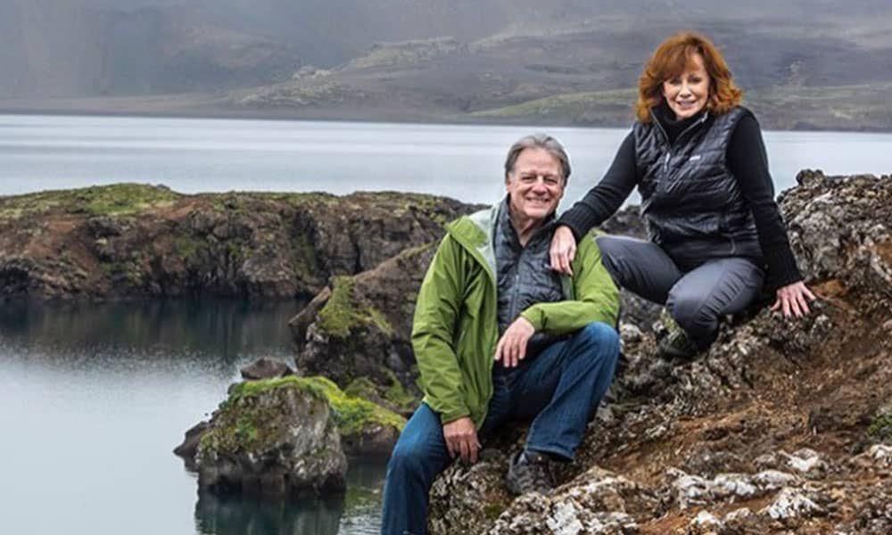 Reba Iceland Trip Photo Cowgirl Magazine