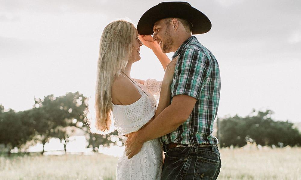 Turquoise Florida Cowgirl Engagement Cowgirl Magazine