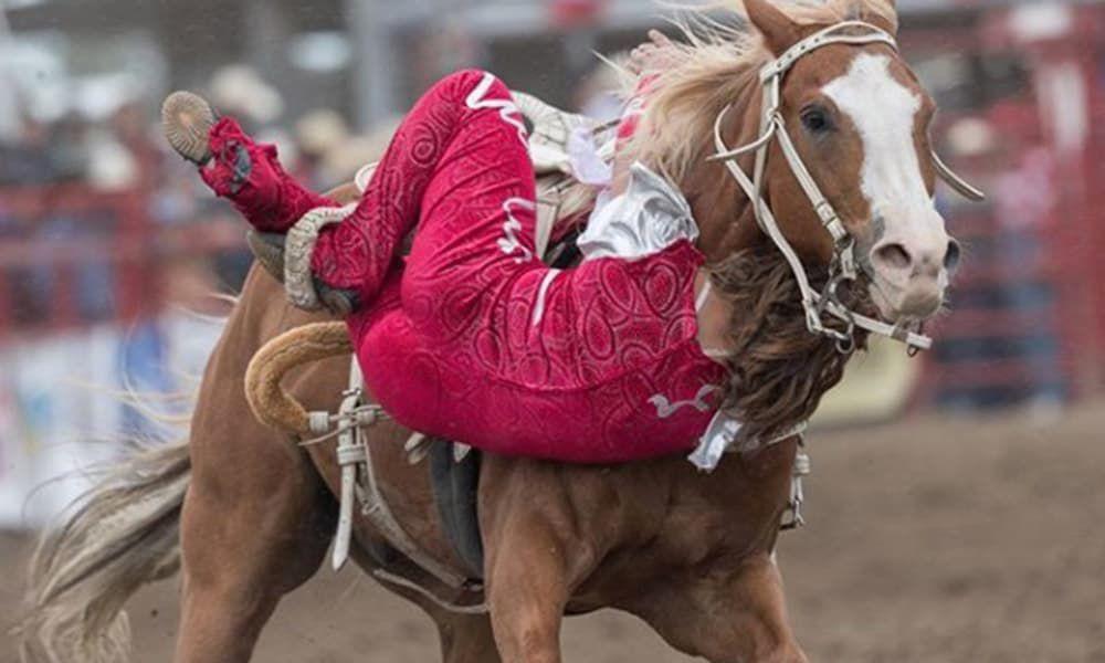 Trick Riding Ponoka Stampede Cowgirl Magazine