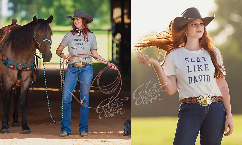 girl gang cowgirl magazine This Is Girl Gang Goals! Way To Be Positive, Uplifting, And Stylish
