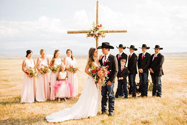 Wolfe wedding hattie Kason cowgirl chicks all american cowgirl chicks cowgirl magazine