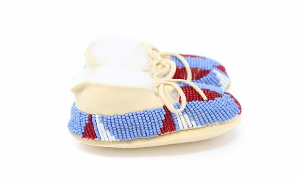 baby beaded moccasins cowgirl magazine