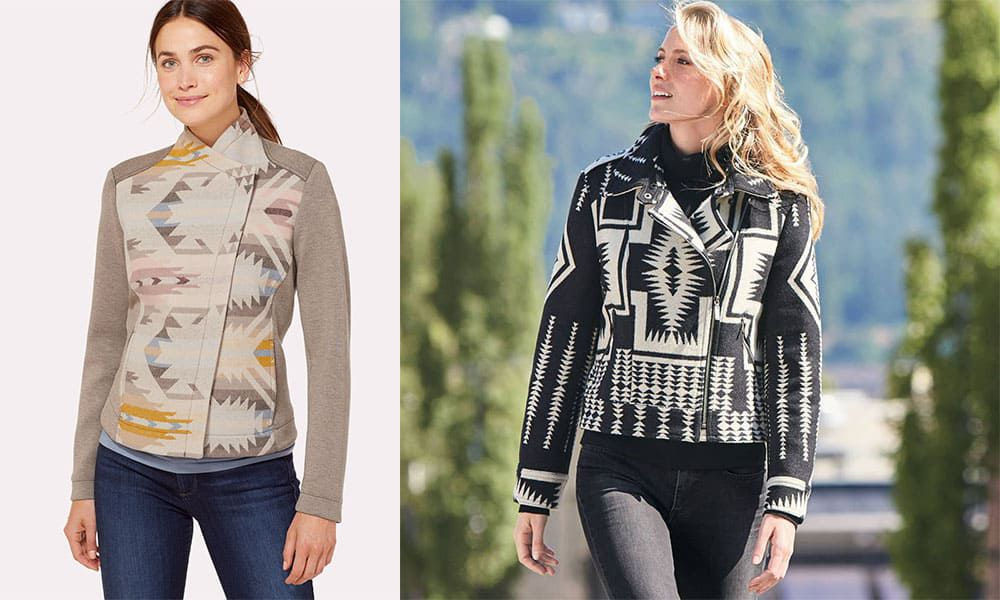 Pendleton woolen mills, Pendleton, moto, moto jacket, cowgirl, cowgirl magazine