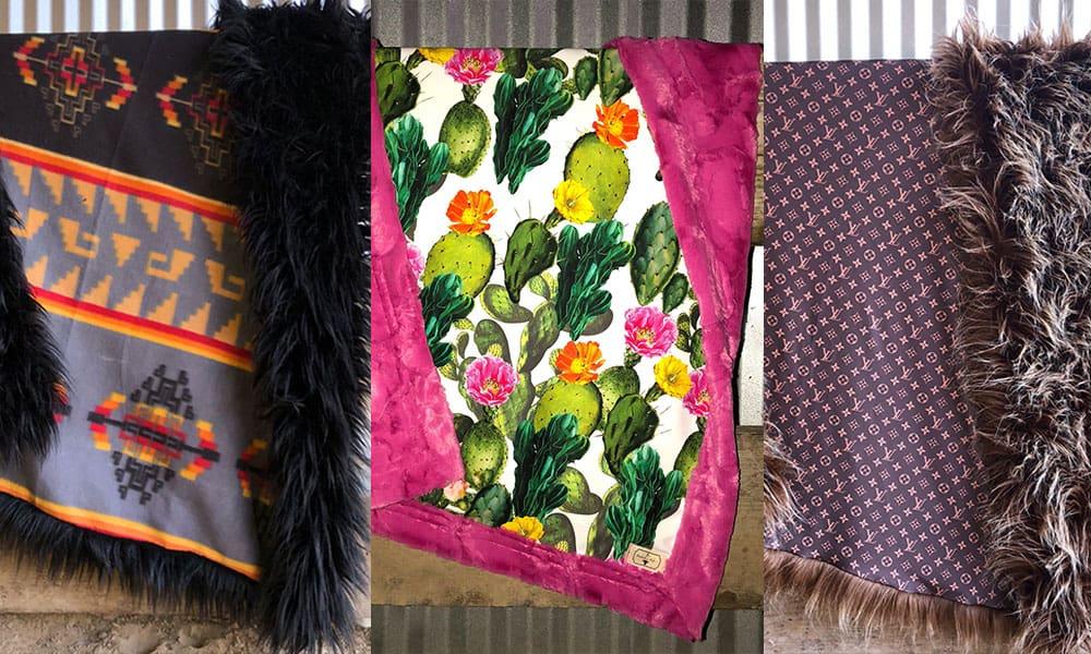 handmade heifer blanket blankets cowgirl magazine
