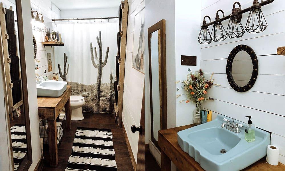 southwestern style bathroom cowgirl magazine