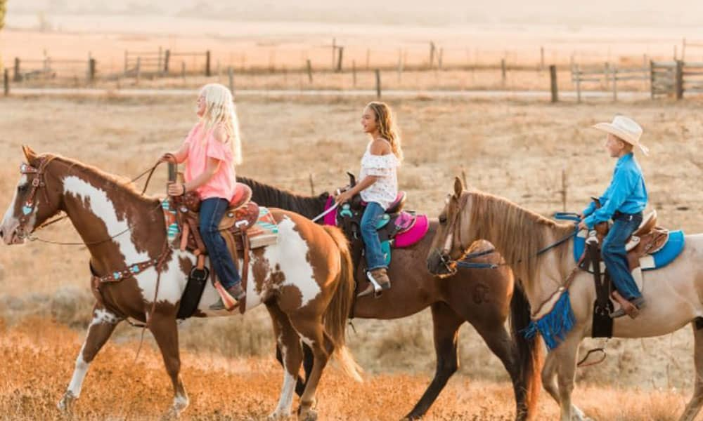 Tack Line Kids Cowgirl Magazine