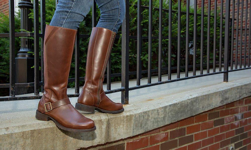 durango boots crush riding boots brown