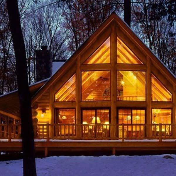 window walls cabin cowgirl magazine