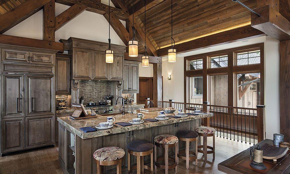 Cle Elum Retreat Rustic Homes Cowgirl Magazine