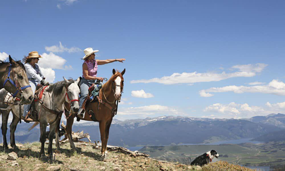 Drowsy Water Ranch Colorado Rockies Cowgirl Magazine