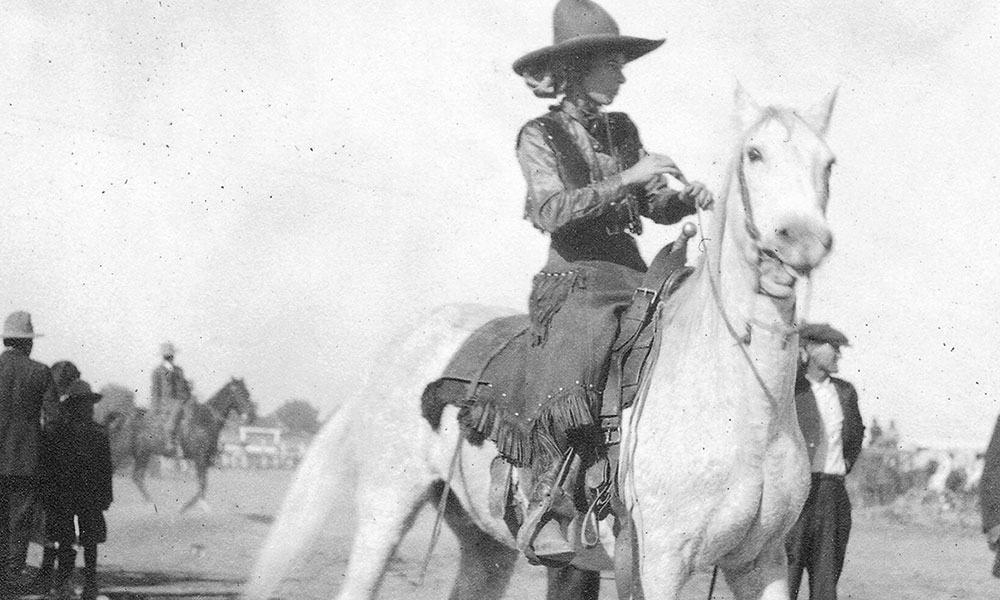 Vera McGinnis Cowgirl Magazine