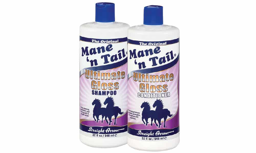 Mane 'n Tail Ultimate Gloss Shampoo and Conditioner Cowgirl Magazine