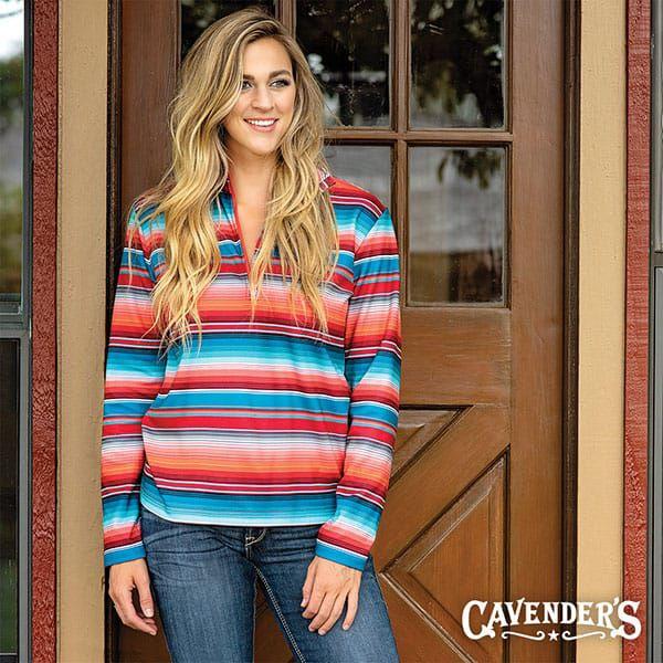 cavenders western fall fashion womens ariat serape fleece lined jacket